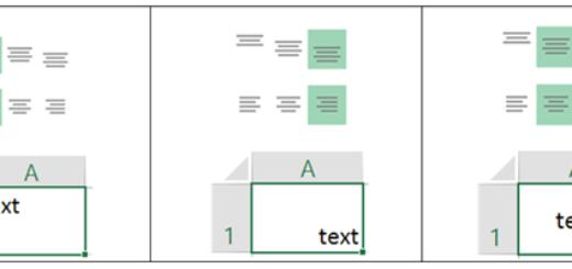 justering av text