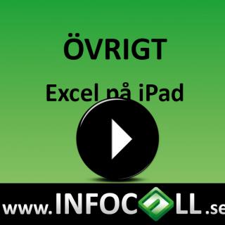 Excel på iPad
