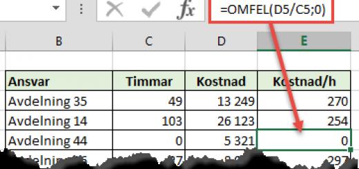 OMFEL Excel
