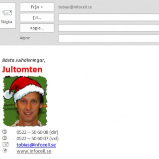 automatisk signatur i Outlook