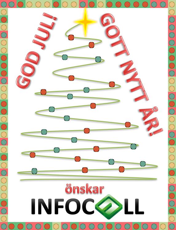 Julkort Excel