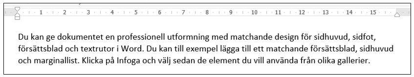 Radera all formatering i Word