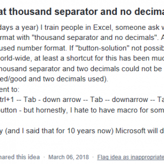 Tusentalsavgränsning Excel
