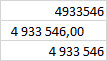 talformat tusental Excel
