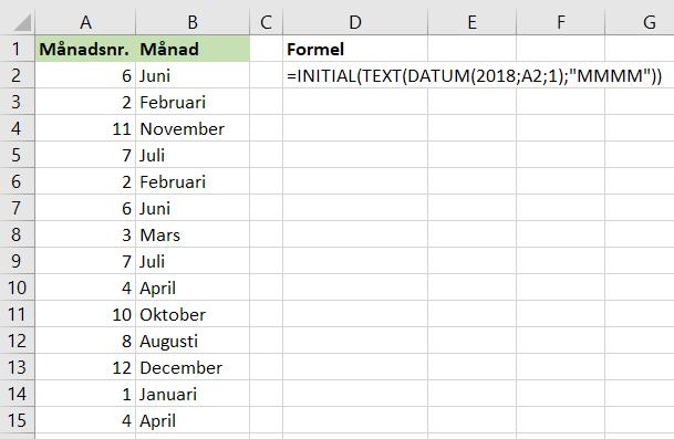 Datum tre månader nu vad