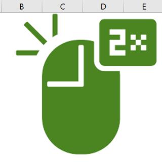 dubbelklicka i Excel