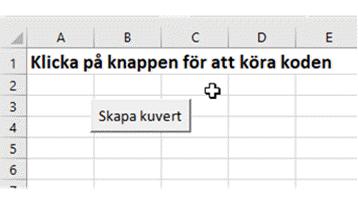 etiketter makro Excel VBA