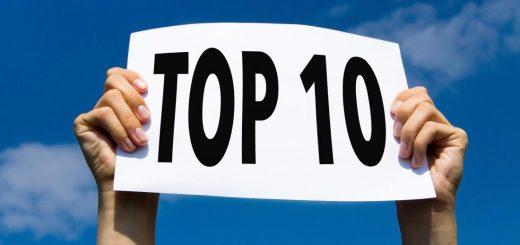 top 10 pivottabell