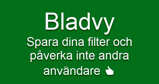Bladvy Excel