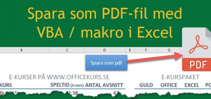 makro spara pdf excel